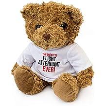 London Teddy Bears The Greatest Flight Attenant Ever – Oso de Peluche – Bonito y Suave
