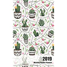 2019 Monthly Pocket Planner: Calendar Time Management Planing Personal Writing