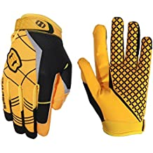 Seibertron Pro 3.0 Elite Ultra-Stick Sports Receiver Glove American Football Gloves Youth and Adult/Guantes de fútbol americano para Juventud y Adulto (amarillo, XS)
