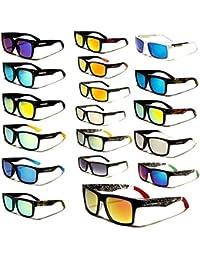 Biohazard Wayfarer Sunglasses Fashion Unisex Men's Women's Nerd Glasses Aviator 30 Colors