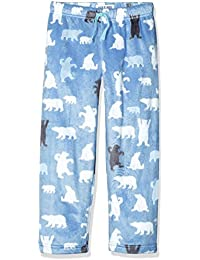 Hatley Mädchen Schlafanzughose Lbh Kids Fuzzy Fleece Pants-Blue Bear