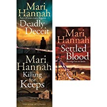 Deadly deceit, killing for keeps and settled blood mari hannah kate daniels collection 3 books set