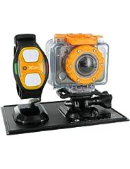 "HP AC 200W - Cámara deportiva (H.264, 1080p, CMOS, 5 MP, 1/0,0984 mm (1/2.5""), JPG) Gris"