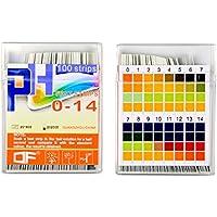 Yolito Tiras Ph Orina Papel Tornasol Reactivas PH,Lettura Chiara e accurata - Ampia Gamma PH 0~14 (200 pezzi)