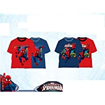 CAMISETA SPIDERMAN MANGA CORTA