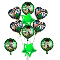 ‏‪10pcs Ben 10 Balloons Birthday Party Supplies Decorations Set for Kids ben 10 party‬‏