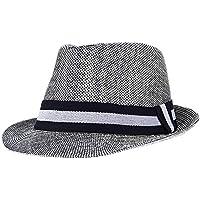 NINHAOA Hombres De Moda Sombrero De Verano Sombreros De Playa Sombrero De  Sol Sombreros para Caballero dd91b6983b9