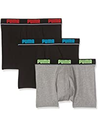 Puma Promo Lot de 3 Boxer Homme - Boxer - Homme