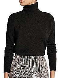 82f5fefd53ee15 Tomwell Donne Maglione Maglia Alta Collo Alto Allentato Maglioni Inverno  Elegante Jumper Sweater Pullover