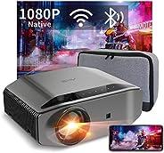 Proyector WiFi Bluetooth 8000 Lúmenes, Artlii Energon2 Proyector Full HD 1920x1080P Nativo Soporta 4K, 300&quo