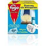 Fogo Aparato eléctrico antimosquitos  - 10 pastillas - [Pack de 2]