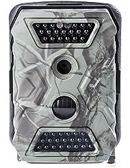 Ultrasport Überwachungskamera UmovE Secure Guard PRO (Ready), Wildkamera getarnt, Outdoor-Cam mit Bewegungsmelder, PRO READY inkl. Batterien und 16GB SD Karte – Spy Cam mit Full HD Auflösung