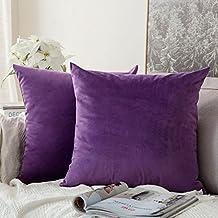 Amazon.fr : coussin violet