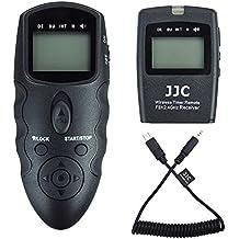 JJC Télécommande de sans Fil Déclencheur à Distance Intervallometre pour Sony Alpha A7RII A7SII A7II A7R A7S A7 A6500 A6300 A6000 A5100 A5000 NEX-3N RX100 IV RX100 V RX100 III RX10 III RX10 II