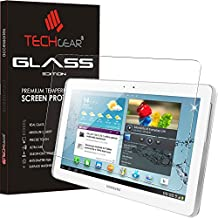 Techgear®–Samsung Galaxy Tab 225,7cm (GT-P5100Series) Glass Edition Genuine tempered glass Screen Protector Guard cover