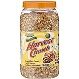 Express Foods Harvest Crunch Breakfast Cereal, No Added Sugar Jar, 1kg