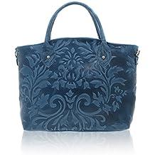 Chicca Borse - Handbag Borsa a Mano da Donna Realizzata in Vera Pelle Made  in Italy 63e12afbdfc