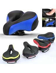 Ondeni stossgesichert Fahrradsattel Fahrradsitz dicker und breiter Tourensattel Trekking Rennrad Sattel Farben wahlbar
