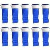 CYSJ 20 Piezas Unidades de válvula de desagüe Anillo Silicona Desodorante Tapón Sellado,para Tubos en Inodoro y baño con Sell