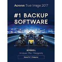 Acronis True Image 2017 1 Computer [MAC Download]