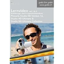 Lernvideo Einführungskurs und Fortgeschrittenenkurs Pinnacle Studio HD Version 14, Vol. 1 und 2: Lernvideo für Pinnacle Studio HD, Studio HD Ultimate und Studio HD Ultimate Collection Version 14