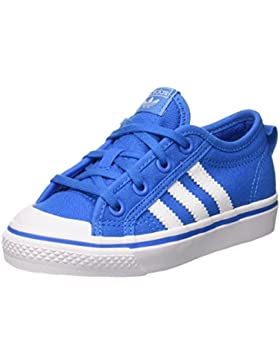 adidas Nizza C, Zapatos de Baloncesto Unisex Niños