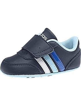 adidas Unisex Baby V Jog Crib Lauflernschuhe, Blau