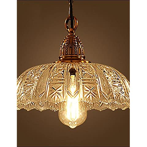 ZHY Los países americanos araña de luces de techo Iluminación luces colgantes con el cristal