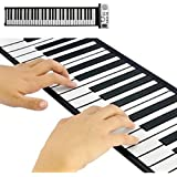 Flexible Roll Up sintetizador con teclado de Piano Keys CVWE-G414-N1