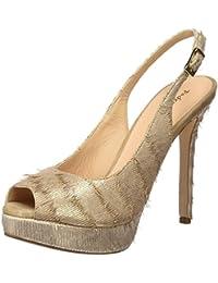 PEDRO MIRALLES 19477, Zapatos de Tacón con Punta Abierta para Mujer