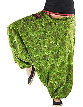 bonzaai pantalones harem pantalones arabes ropa boho pantalon palazzo pantalon hippie estilo bohemio chic Naturverbunden