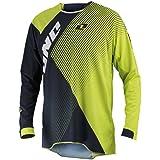 51121-255-054 - One Industries 2014 Gamma Czar Motocross Jersey XL Navy/Chartreuse