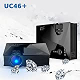 2018 Edition UC46+ Mini Full Hd LED WiFi Projector 1200 Lumi HDMI Airplay DLAN
