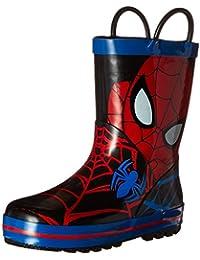 Disney 1SPS502 Spider-Man Rain Boot (Toddler/Little Kid)