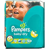 Pampers Baby Taille Sec 5 + Junior Plus 13-27Kg (35)