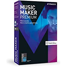 MAGIX Music Maker – 2017 Premium Edition – Music program: Record, edit and remix your own music
