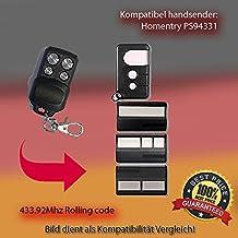 PS94331repuestos para emisor manual de mando a distancia, 433.92MHz, Rolling Code
