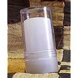 Allume di potassio stick – Deodorante 100% Naturale – Deodorante Anti Odore efficace per Pelli Sensibili – 60 gr – Formato da