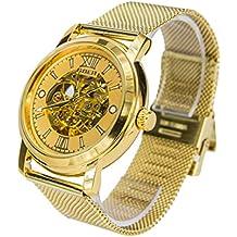 Reloj Automático Goer Dorado 1026