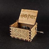 Caja musical grabada Harry Potter con nuevo mecanismo - Sonido y funcionamiento perfecto. Envío gratuito.