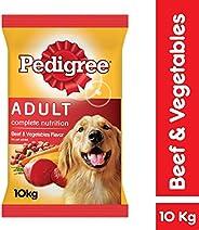 Pedigree Beef & Vegetables, Dry Dog Food (Adult), 10kg