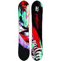 Burton–Tabla de snowboard lip-stick Mujer 2nd–Mujer–negro, Negro  , 145 cm