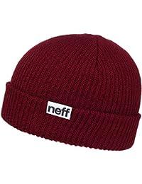 Neff Beanie Fold Maroon