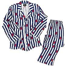 BTS Bangtan Boys Versión de Dibujos Animados Estilo BT21 Unisex BTS Pijamas Set Camisa de Dormir
