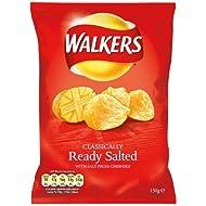 Walkers Prêt salé Chips 12 x 150gram