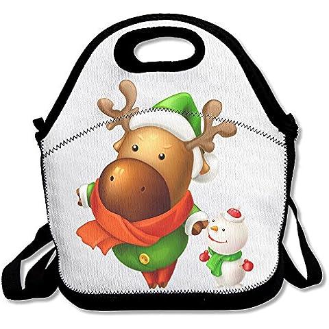 Yean Renna Treats Ugly Natale borsa pranzo Alimentare