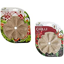 Pack of 2 Pizza and Chilli Grow Your Own Seed Pods