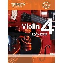 Violin Exam Pieces Grade 4 2016-2019 (Score, Part & CD)