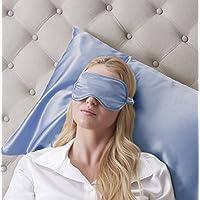Jasmine Silk Luxus 100% Seide Schlafmaske Augenmaske Reisen Silk eye mask - Blau preisvergleich bei billige-tabletten.eu