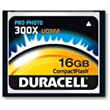 Duracell 300X UDMA Compact Flash (CF) 16GB Speicherkarte